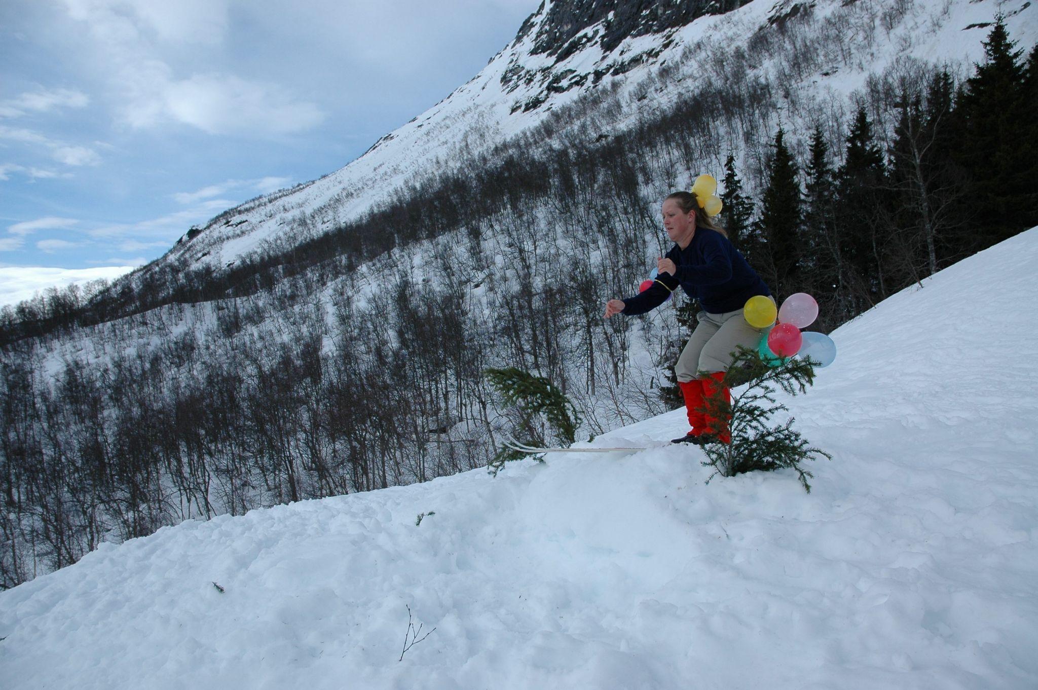 Skilek på Katteli, Mjølfjell