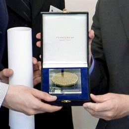 european citien's prize medal